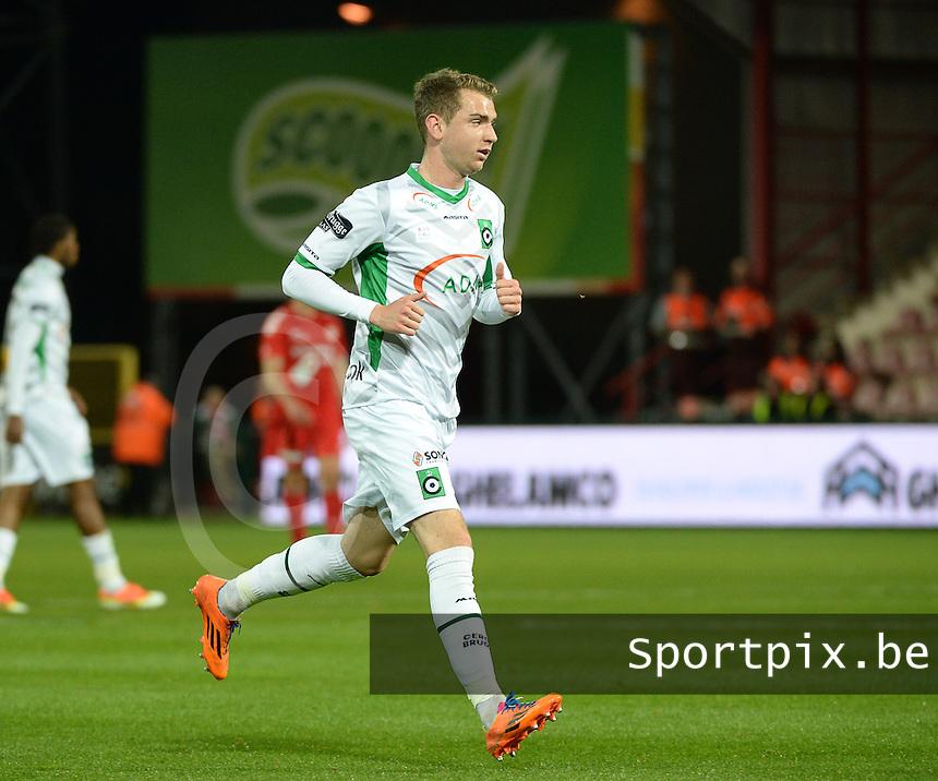 Cercle Brugge KSV  : Stephen Buyl <br /> foto VDB / BART VANDENBROUCKE