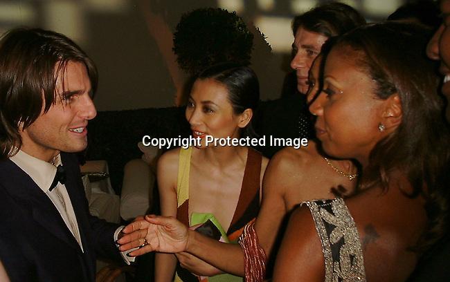 Tom Cruise, Bai Ling<br />2000 Vanity Fair Post Oscar Party<br />Morton's Restaurant<br />Los Angeles, California, USA<br />March 26, 2000<br />Photo by Celebrityvibe.com
