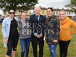 Wendy McArdle, Fiona Carter, Frank Godfrey, Carol Walsh and Catherine Brady at the 10th anniversary celebrations of McArdle Green estate in Moneymore. Photo:Colin Bell/pressphotos.ie