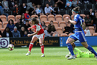 Danielle van de Donk of Arsenal Ladies scores the second goal during Arsenal Ladies vs Birmingham City Ladies, FA Women's Super League FA WSL1 Football at the Hive Stadium on 20th May 2017