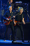 HOLLYWOOD, FL - JANUARY 10: (L-R) Justin Hayward and John Lodge of the Moody Blues perform at Hard Rock Live! in the Seminole Hard Rock Hotel & Casino on January 10, 2018 in Hollywood, Florida. ( Photo by Johnny Louis / jlnphotography.com )