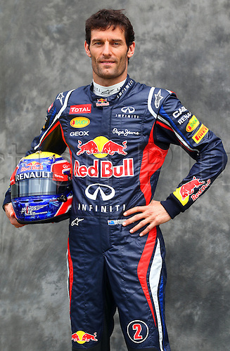 15.03.2012. Melbourne, Australia.  Australian Formula One driver Mark Webber of Red Bull during the photo session at the paddock before the Australian Formula 1 Grand Prix at the Albert Park circuit in Melbourne, Australia, 15 March 2012. The Formula One Grand Prix of Australia will take place on 18 March 2012.