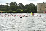 2014-06-28 Leeds Castle Sprint Tri 000 Swim Red SB