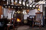The Village Pub. Royal Oak, Whatcote, Warwickshire, England