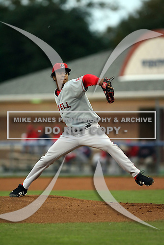 September 10 2008:  Pitcher Stolmy Pimentel of the Lowell Spinners, Class-A affiliate of the Boston Red Sox, during a game at Dwyer Stadium in Batavia, NY.  Photo by:  Mike Janes/Four Seam Images