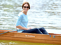 Princess Kate and Prince William Rowing Boat Competition in Heidelberg