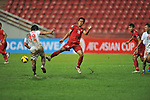 Vietnam vs Myanmar during the AFF Suzuki Cup 2012 Group A match on November 24, 2012 at the Rajamangala Stadium in Bangkok, Thailand. Photo by World Sport Group