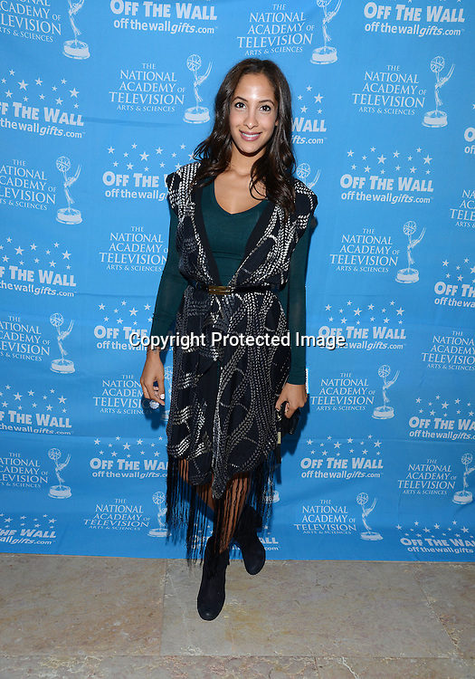 Christel Khalil attends the 2015 Daytime Emmy Gifting Suite on April 25, 2015 at Warner Brothers Stuido Lot  in Burbank, California, USA. The gift lounge was presented by OffTheWallIdeas.com.