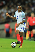 5th October 2017, Wembley Stadium, London, England; FIFA World Cup Qualification, England versus Slovenia; Raheem Sterling of England