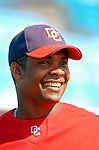 18 March 2006: Jose Guillen, outfielder for the Washington Nationals, prior to a Spring Training game against the New York Mets at Space Coast Stadium, in Viera, Florida. The Nationals defeated the Mets 10-2 in Grapefruit League play...Mandatory Photo Credit: Ed Wolfstein Photo..