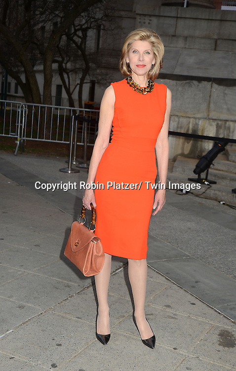 Christine Baranski attends the Vanity Fair Party for the 2013 Tribeca Film Festival on April 16, 2013 at State Suprme Courthouse in New York City.