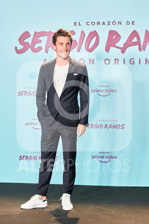 Alvaro Odriozola in the world preview of EL CORAZÓN DE SERGIO RAMOS, documentary series about the life of the captain of Real Madrid and the Spanish Soccer Team, at the Reina Sofía Museum on September 10, 2019 in Madrid, Spain.<br />  (ALTERPHOTOS/Yurena Paniagua)