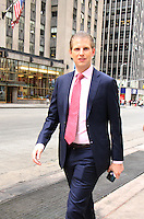 NEW YORK, NY-June 27: Eric Trump at Fox & Friends  in New York. NY June 27, 2016. Credit:RW/MediaPunch
