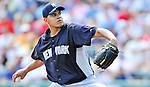 8 March 2011: New York Yankees' pitcher Dellin Betances on the mound during a Spring Training game against the Atlanta Braves at Champion Park in Orlando, Florida. The Yankees edged out the Braves 5-4 in Grapefruit League action. Mandatory Credit: Ed Wolfstein Photo