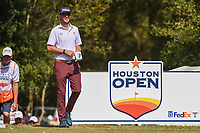Cameron Tringale (USA) heads down 2 during round 4 of the 2019 Houston Open, Golf Club of Houston, Houston, Texas, USA. 10/13/2019.<br /> Picture Ken Murray / Golffile.ie<br /> <br /> All photo usage must carry mandatory copyright credit (© Golffile | Ken Murray)