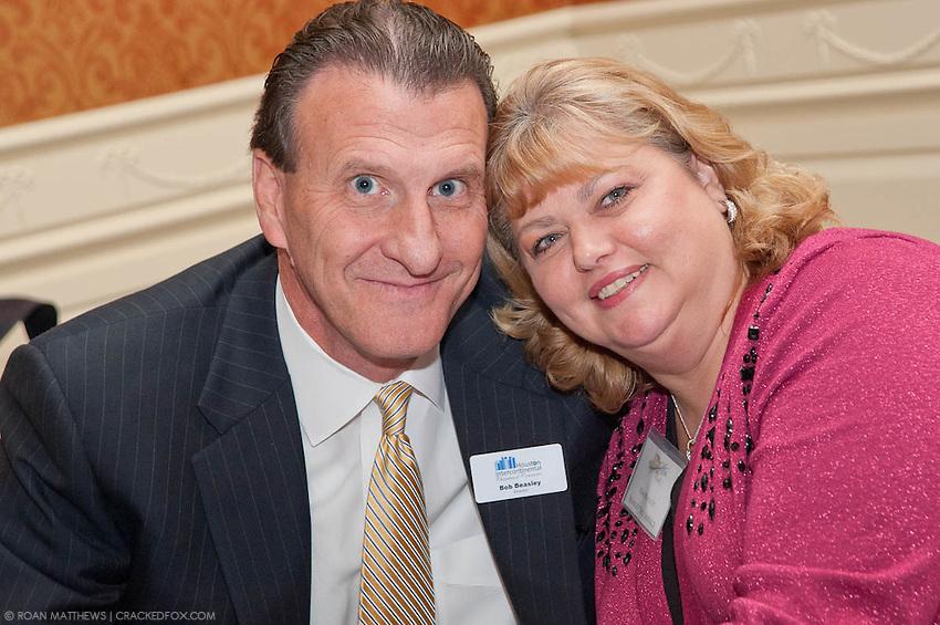 Bob and Kim Beasley - Beasley Tire Service, Inc. at the 2011 Starlight Business Awards.