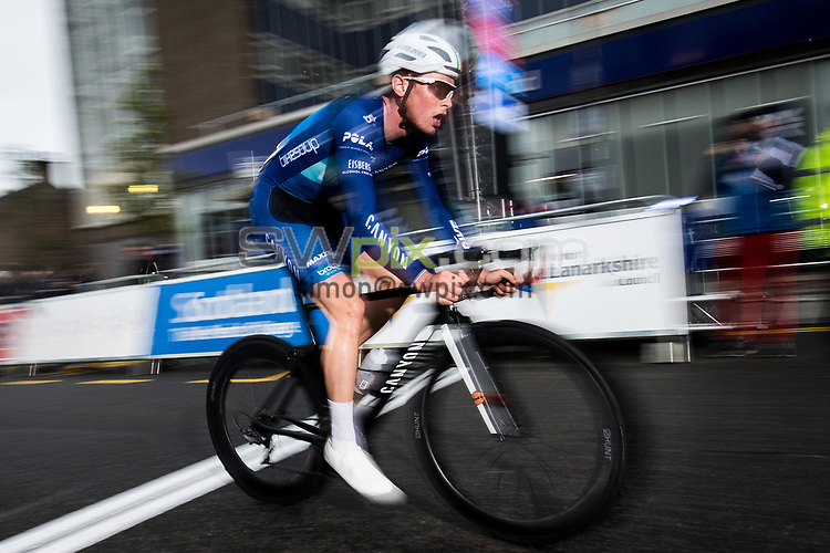 Picture by Alex Whitehead/SWpix.com - 23/05/2017 - Cycling - Tour Series Round 7, Motherwell - Bike Channel Canyon's Rory Townsend.