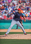 5 March 2016: Detroit Tigers pitcher Jairo Labourt on the mound during a Spring Training pre-season game against the Washington Nationals at Space Coast Stadium in Viera, Florida. The Tigers fell to the Nationals 8-4 in Grapefruit League play. Mandatory Credit: Ed Wolfstein Photo *** RAW (NEF) Image File Available ***