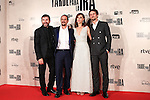 "Raul Arebalo, Antonio de la Torre, Luis Callejo, Ruth Díaz  during the premiere of the film ""Tarde para la Ira"" in Madrid. September 08, 2016. (ALTERPHOTOS/Rodrigo Jimenez)"