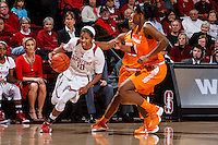 Stanford, CA - Saturday December 16, 2015: Briana Roberson during the Stanford vs Tennessee basketball game Wednesday night at Maples.<br /> <br /> The Cardinal defeated the Volunteers 69-55.<br /> .