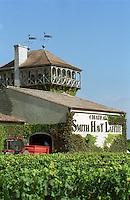 Winery building. Chateau Smith Haut Lafitte, Pessac Leognan, Graves, Bordeaux, France