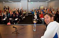 Februari 11, 2015, Netherlands, Rotterdam, Ahoy, ABN AMRO World Tennis Tournament, Robin Haase (NED)<br /> Photo: Tennisimages/Henk Koster