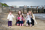 THE OPERA BABES AND FAMILY..KAREN ENGLAND AND  REBECCA KNIGHT  WITH THEIR CHILDREN.<br />