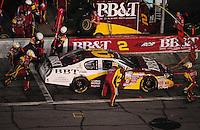 Jul. 4, 2008; Daytona Beach, FL, USA; Nascar Nationwide Series driver Clint Bowyer pits during the Winn-Dixie 250 at Daytona International Speedway. Mandatory Credit: Mark J. Rebilas-