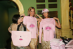 """OLTL - Kathy Brier, Kassie DePaiva, AMC - Bobbie Eakes hold Diva Items for sale - The Divas of Daytime TV (three great soap stars, two great ABC soaps and one great show) - """"A Great Night of Music and Comedy"""" on November 7, 2008 at the Mishler Theatre, Altoona, PA with meet and greet, autographs and photo ops. Portion of proceeds to benefit Altoona Mirror Season of Sharing. Mid-Life Productions Inc in association with Creative Entertainment presents this great show. (Photo by Sue Coflin/Max Photos)"""
