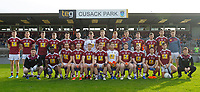 26th January 2020; TEG Cusack Park, Mullingar, Westmeath, Ireland; Allianz Football Division 2 Gaelic Football, Westmeath versus Clare; Westmeath squad to face Clare pictured before throw in