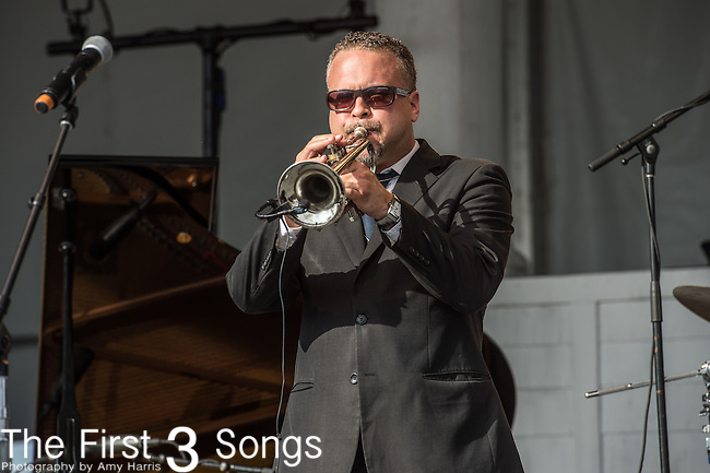 Mark Braud of The Preservation Hall Jazz Band at the 2015 Pilgrimage Music & Cultural Festival in Franklin, Tennessee.