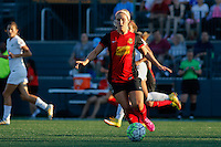 Rochester, NY - Saturday July 23, 2016: Michaela Hahn during a regular season National Women's Soccer League (NWSL) match between the Western New York Flash and FC Kansas City at Rochester Rhinos Stadium.