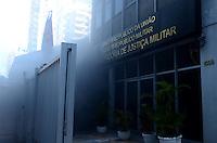 SAO PAULO; 29 DE MAIO DE 2012 - INCENDIO MINISTERIO PUBLICO - Um incendio atinge o subsolo do predio do Ministerio Publico, na rua Peixoto Gomide, a duas quadras da Avenida Paulista, no inicio da tarde desta terca feira. Ainda nao se sabe o motivo e o predio foi evacuado sem feridos. FOTO: ALEXANDRE MOREIRA - BRAZIL PHOTO PRESS