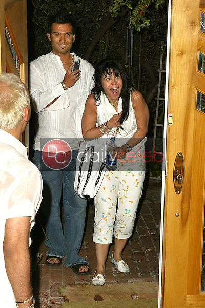 Maria Conchita Alonso is surprised when she arrives home<br /> at Maria Conchita Alonso's Surprise Birthday Party, Private Residence, Los Angeles, CA 06-25-05<br /> David Edwards/DailyCeleb.Com 818-249-4998<br /> EXCLUSIVE