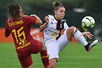 Annamaria Srturini (Roma) and Lisa Boattin (Juventus)<br /> <br /> <br /> Roma 24/11/2019 Stadio Tre Fontane <br /> Football Women Serie A 2019/2020<br /> AS Roma - Juventus <br /> Photo Andrea Staccioli / Insidefoto