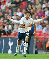 Tottenham's Dele Alli during the Premier League match between Tottenham Hotspur and Burnley at White Hart Lane, London, England on 27 August 2017. Photo by Andrew Aleksiejczuk / PRiME Media Images.