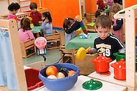 Asilo nido privato. Milano, 3 aprile, 2006<br /> <br /> Private nursery. Milan, April 3, 2006