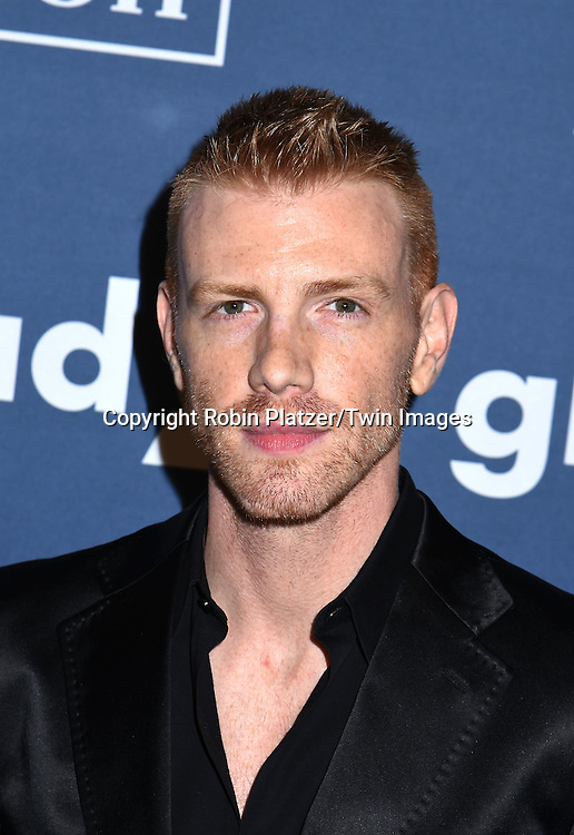 Daniel Newman attends the 27th Annual GLAAD Media Awards on May 14, 2016 at the Waldorf Astoria Hotel in New York City, New York, USA.<br /> <br /> photo by Robin Platzer/Twin Images<br />  <br /> phone number 212-935-0770