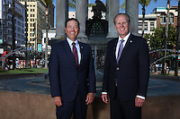June 23, 2016. I san Diego, CA. USA. | San Diego Mayor Kevin Faulconer and COO Scott Chadwick|Photos by Jamie Scott Lytle. Copyright.