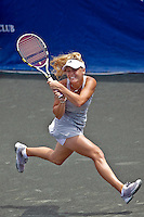April 11, 2010:  MPS Group Championships.  Caroline Wozniacki (DEN) runs after a return during finals singles action at the MPS Group Championships played at the Sawgrass Country Club in Ponte Vedra, Florida.  Caroline Wozniacki (DEN) defeated Olga Govortsova (BLR) 6-2, 7-5 to win the tournament for the second consecutive year..