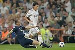 MADRID (15/(09/2010).- Champions League match Real Madrid vs Ajax Amsterdam. Mesut Özil and Vurnon Anita...Photo: Cesar Cebolla / ALFAQUI