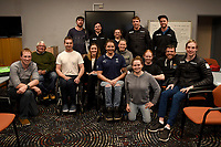 THE MOB get together for the <br /> Australian Paralympic Committee<br /> 2017 Alpine skiing training camp for <br /> 2018 Pyeongchang South Korea Paralympics<br /> Jindabyne NSW / August 15th 2017<br /> &copy; Sport the library / Jeff Crow