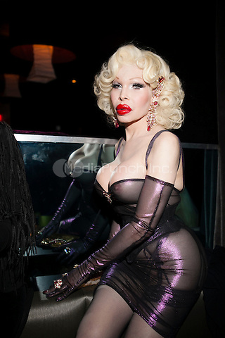 NEW YORK, NY - JANUARY 25: Amanda Lepore attends 'RuPaul's Drag Race' Season 5 Premiere Party at XL Nightclub on January 25, 2013 in New York City.  © Diego Corredor/MediaPunch Inc.