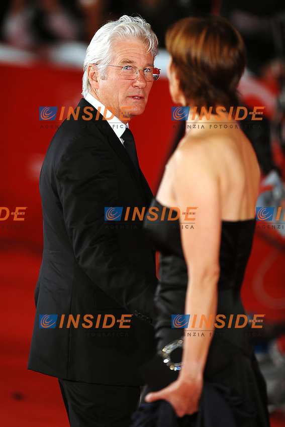 Richard GERE and Cary LOWELL.Roma 4/11/2011 Auditorium.Festival Internazionale del Film di Roma.Award ceremony Red Carpet.Foto Andrea Staccioli Insidefoto