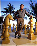 Actor Gene Hackman photographed for Cigar Aficionado