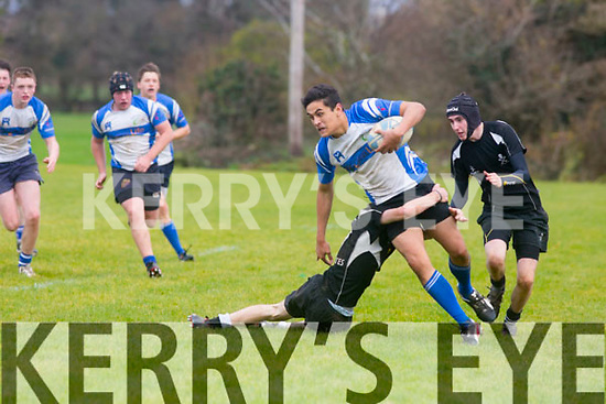 In Action Tralee RC Danny Cunnane in the South Munster U18 match Tralee v Cobh Pirates at O'Dowd Park on Saturday