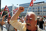 Greek civil servants took to the streets for the second day of their 48-hour general strike which is being ignored by the government.