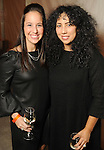 Stacy Berman and Jessica Potts at the Realcity Literacy party at 13 Celsius Thursday Feb. 18,2010. (Dave Rossman Photo)