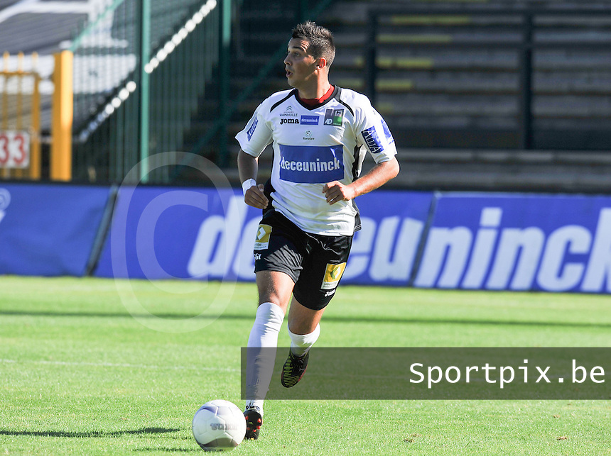 KSV Roeselare : Romain Haghedooren.foto VDB / BART VANDENBROUCKE