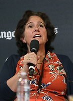 LOS ANGELES, CA -APRIL 14: Mary McNamara, at 2019 Los Angeles Times Festival Of Books Day 2 at University of Southern California in Los Angeles, California on April 14, 2019.<br /> CAP/MPI/FS<br /> ©FS/MPI/Capital Pictures